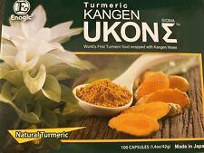 Ukon Sigma Enagic 100% Natural Turmeric Kangen for vegetarians 10 capsules