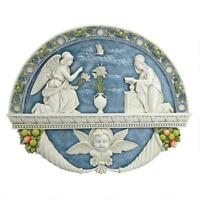 The Annunciation By Gabriel To The Virgin Mary Design Toscano Wall Sculpture