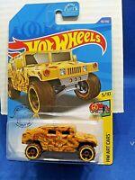 Hot Wheels Humvee HW Art Cars #5/10 Diecast 1:64 Scale New Must See!
