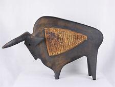"Pouchain Grande sculpture ""Toro"" Dieulefit"