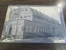 ANTIQUE - PIONEER KNITTING MILLS OF PLYMOUTH PA - POST CARD - 1909