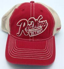 NHL Detroit Red Wings Reebok Adulto Media Malla Gorra Sombrero Gorro de  Lana Ajuste Ajustable! nuevo! C  816.40 cdb580a0a3e