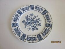 """Myott Staffordshire  Melody Blue  Dinner Plate more available 10"""""""