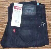 LEVI'S 520 BOYS TAPER LEG BELOW WAIST SLOUCHED FIT DENIM JEANS SZ 8-20 LIST $48