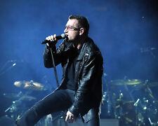 Bono - U2, 8x10 Concert Color Photo