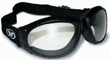 Motorcycle ATV Riding Goggles Clear Googles Night  Padded Biker Riding Low Rider
