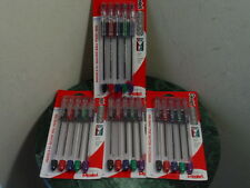 4 - 5pk Pentel RSVP Fine Ball Point Pens Assosrted Color Ink BK90BP5M