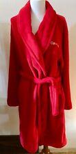 Calvin Klein Sleepwear~ Super Soft ~ Full Length Robe ~Red ~ SZ XS/S NEW w/Tags