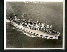 WWII US Navy Transport Troop Ship AP147 Gen.E.T.collins Official Photo 8x10