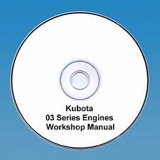 Kubota 03 Series Diesel Engine Workshop Manual