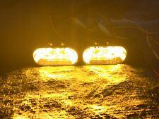 WHELEN JUSTICE LTR SUPER LED LIGHTBAR CENTER MODULES AMBER SPECIAL NOS PAIR ⚠️⚠️