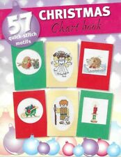 Cross stitch Christmas motifs chart booklet cute & traditional Christmas 911
