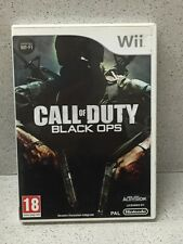 JEU Wii CALL OF DUTY BLACK OPS AVEC NOTICE PAR NINTENDO