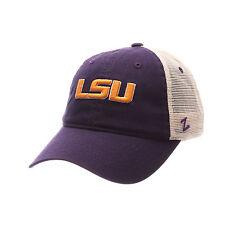 Zephyr Hat LSU Tigers Adjustable Embroidered Cap--Brand New----