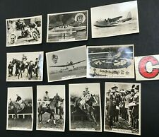 More details for lot 1937 ardath steeplechase world record bluebird real photo cigarette cards