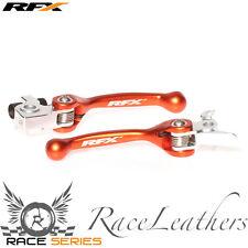 RFX Flexi naranja del Freno y Embrague Palanca Para KTM SX EXC SXF EXCF 06-13