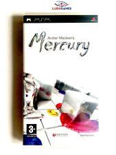 Mercury Maclean PSP Playstation Nuevo Precintado Sealed Brand New PAL/SPA