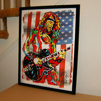 Ted Nugent Amboy Dukes Singer Guitar Rock Music Poster Print Wall Art 18x24