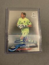 2017-18 Topps Chrome UEFA Iker Casillas Auto Porto Spain Autograph Real Madrid