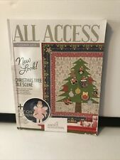 Anita Goodesign All Access October 2019 Book & CD Christmas Tree Pre Owned