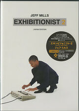 JEFF MILLS-EXHIBITIONIST 2 (JAPAN EDITION)-JAPAN 2 DVD+CD I71