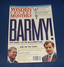 WISDEN CRICKET MONTHLY SEPTEMBER 1997 - BARMY! OUR VERDICT ON THE MACLAURIN PLAN