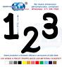 Numeri Adesivi auto/moto racing stickers numero adesivo Waltograph