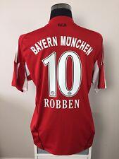 ROBBEN #10 Bayern Munich Home Football Shirt Jersey 2010/11 (L)