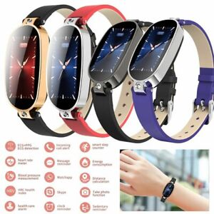 Bluetooth Smart Watch Sport Bracelet ECG PPG for IOS Android Samsung iPhone LG