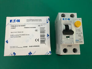 Eaton 16a 170537 Rcbo Combined Rcd Mcb
