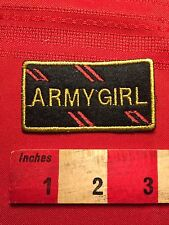 Patch ~ ARMY GIRL Fun Jacket Patch S60H