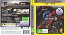 Gran Turismo 5 -- Platinum Edition (Sony PlayStation 3, 2011)