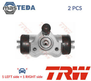 2x TRW REAR DRUM WHEEL BRAKE CYLINDER PAIR BWH111 I NEW OE REPLACEMENT