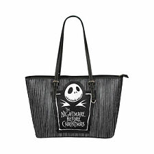 The Nightmare Before Christmas Custom Tote Bag Handle Bags Handbag for Women