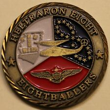 Helicopter Sea Combat Sq 8 HSC-8 Eightballers Navy Challenge Coin