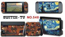 Nintendo Switch Console Joy-Con Skin Sticker Cover #548 a F01