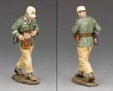 Postal 109 Segunda Guerra Mundial alemán desierto Afrika Korps Rommel's Ayudante de Campo de menta en caja AK109