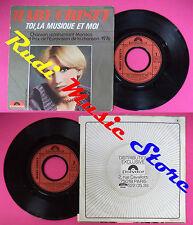 LP 45 7'' MARY CRISTY Toi la musique et moi Juste un peu de chagrin no cd mc dvd