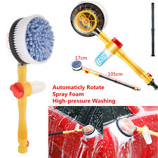 Portable Car Washer Automatic Washing Brush Rotating Spray Foam Brush Clean Tool
