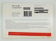 Microsoft Windows 8.1 PROFESSIONAL PRO 64bit DVD VERSIONE COMPLETA tedesco fqc-06942