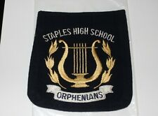 New ListingVintage Felt Patch From Staples High School ( Orphenians )