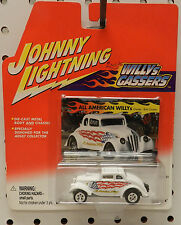 WILLYS GASSER WHITE ALL AMERICAN DRAG RACING CAR HOT ROD JL JOHNNY LIGHTNING
