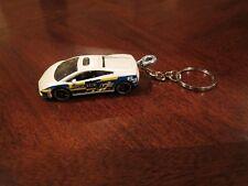 LAMBORGHINI GALLARDO LP560-4 POLIZIA DIECAST MODEL TOY CAR KEYCHAIN NEW WHITE