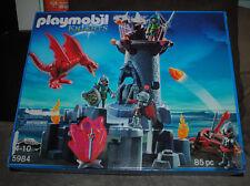 Playmobil Knights 5984 85PC Building Play Set Toy Castle Dragon NIB Retired NEW
