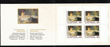 MNH Latvia single stamp booklet - Latvian Art 2005, Mi.Nr.636 Do, Du