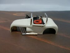 "AURORA MoDeL MoToRing HOT ROD ROADSTER in WHITE ""ORIGINAL"" NMINT"