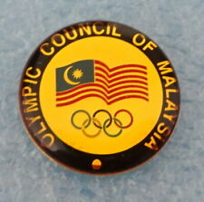 Olympic Council of MALAYSIA Pin BADGE NOC
