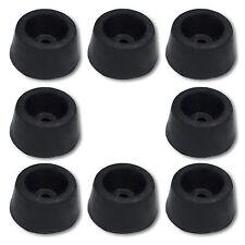 8 Gummi-Türstopper zum Anschrauben Gummistopper