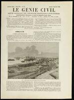 1888 - Puerto De Ouzoun Ada (Rusia) - Genio Civil