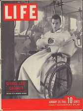LIFE January 29,1945 George Lott Casualty / G Suit / Gold in Siberia